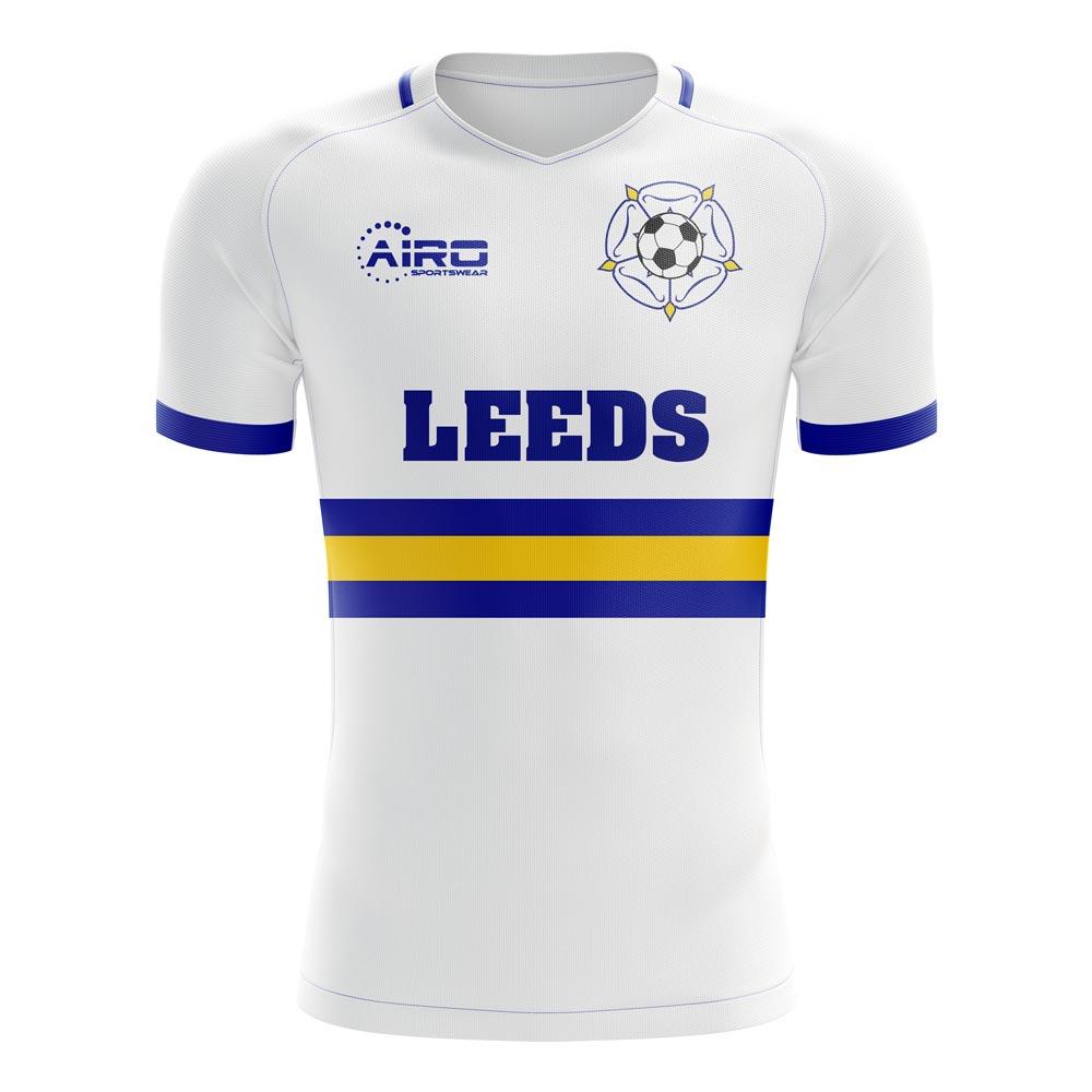 2020-2021 Leeds Home Concept Football Shirt
