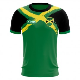 2019-2020 Jamaica Flag Concept Football Shirt