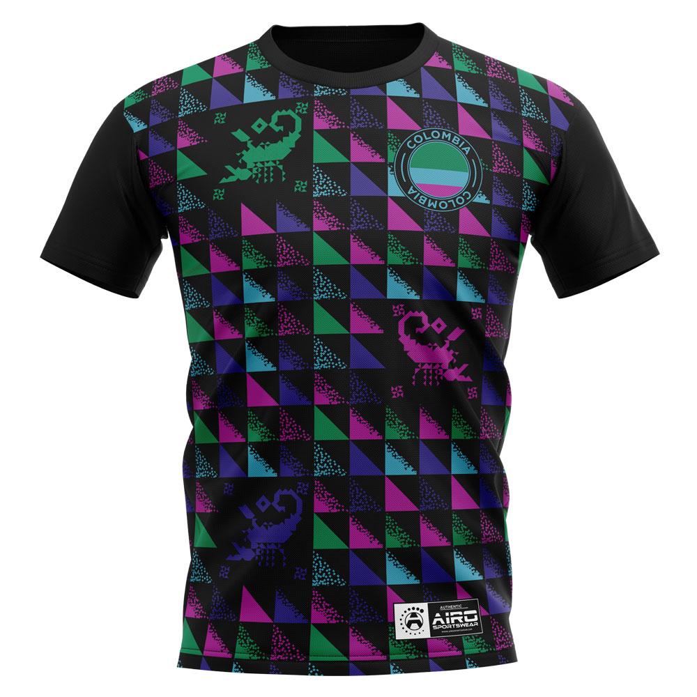 2020-2021 Colombia Rene Higuita Concept Football Shirt