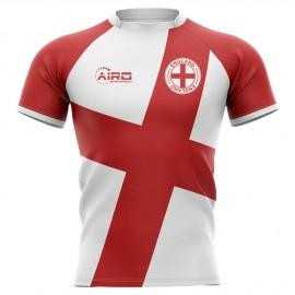2020-2021 England Flag Concept Rugby Shirt - Womens