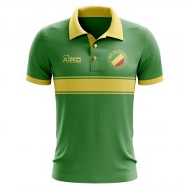 Congo Concept Stripe Polo Shirt (Green)
