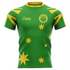 2019-2020 Australia Flag Concept Rugby Shirt