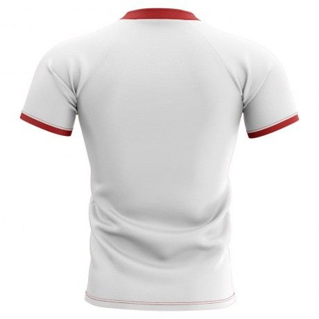2019-2020 Wales Flag Concept Rugby Shirt