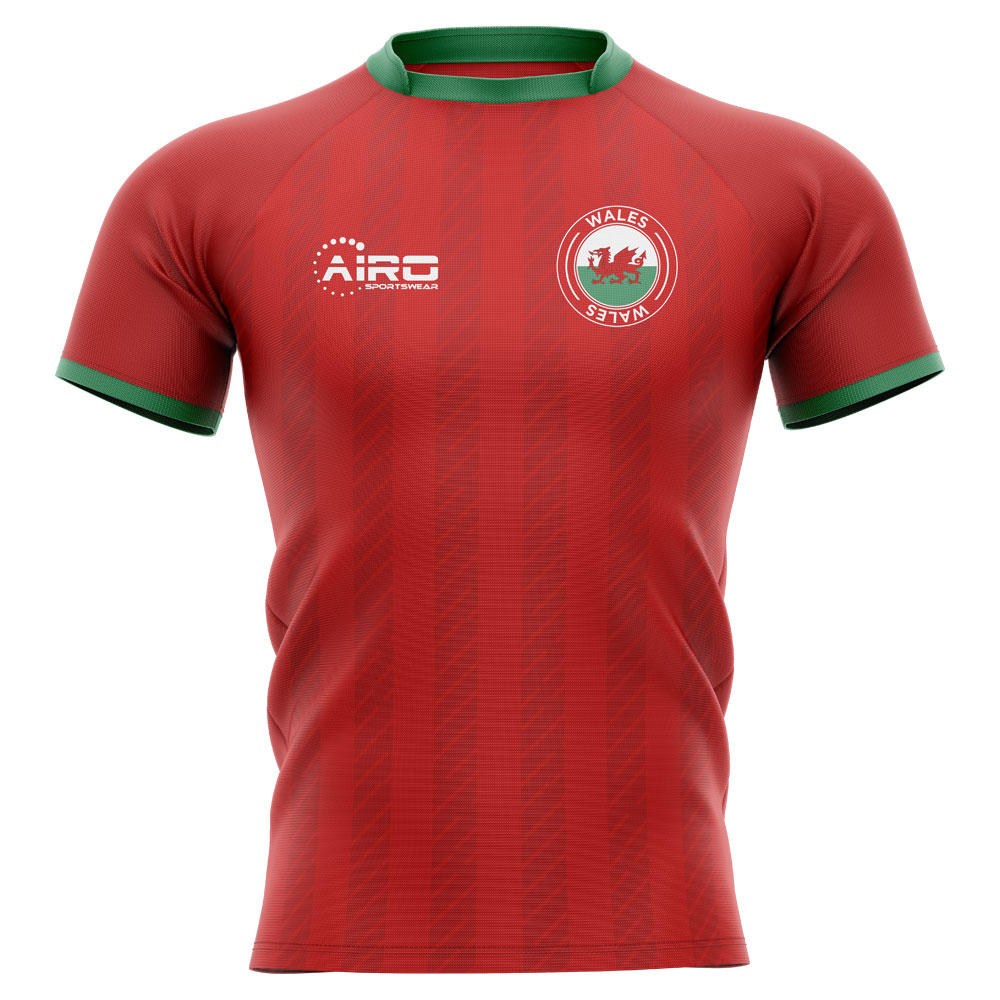 2019-2020 Wales Home Concept Rugby Shirt