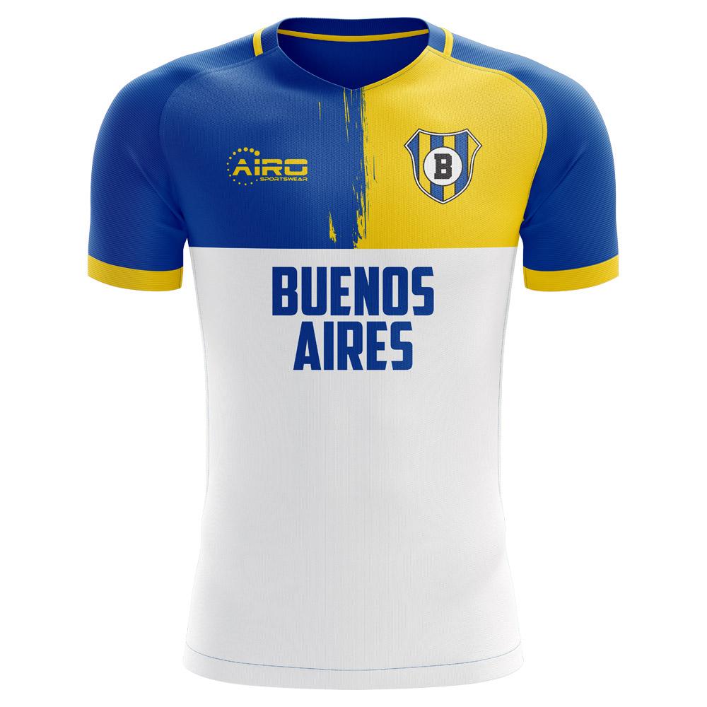 best service 116ce 0bbde 2019-2020 Boca Juniors Away Concept Football Shirt