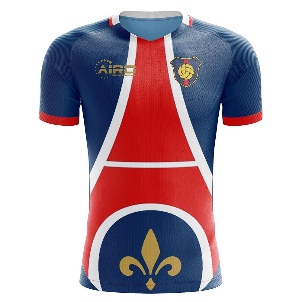 2020-2021 Paris Home Concept Football Shirt - Kids