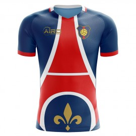 2020-2021 Paris Home Concept Football Shirt - Kids