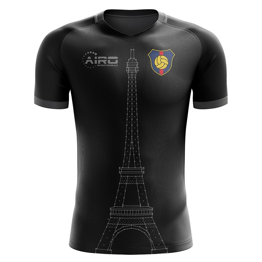 2020-2021 Paris Tower Concept Football Shirt