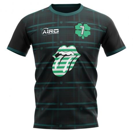 2020-2021 Celtic Henrik Larsson Concept Football Shirt