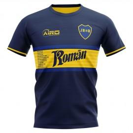 2019-2020 Boca Juniors Juan Roman Riquelme Concept Football Shirt