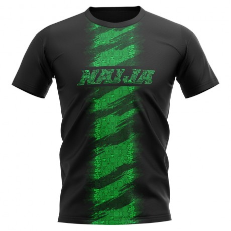 2020-2021 Nigeria Concept Training Shirt (Black)
