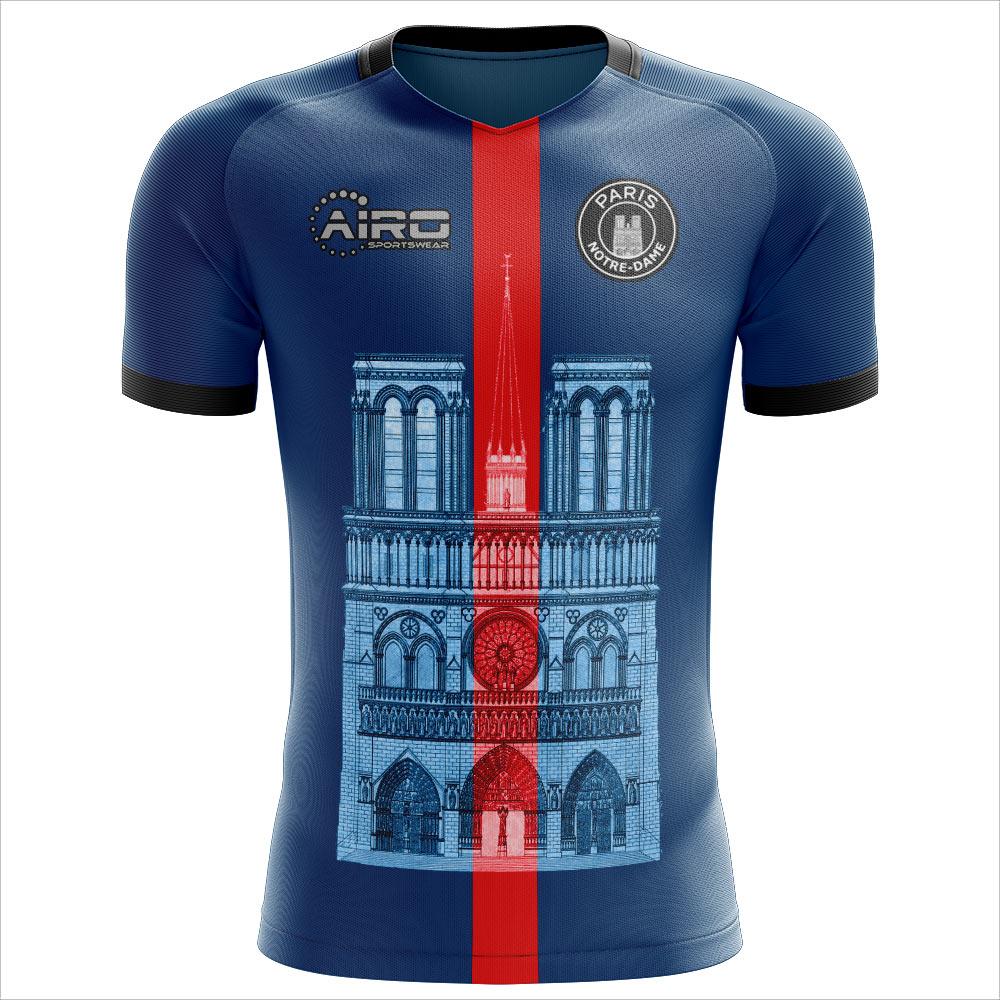 2020-2021 Notre Dame Home Concept Football Shirt - Kids
