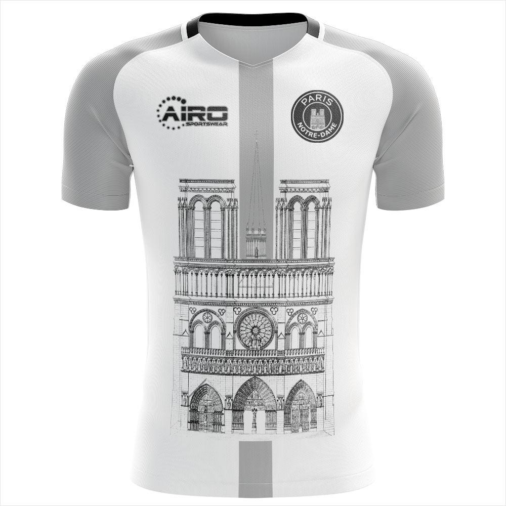 2020-2021 Notre Dame Away Concept Football Shirt