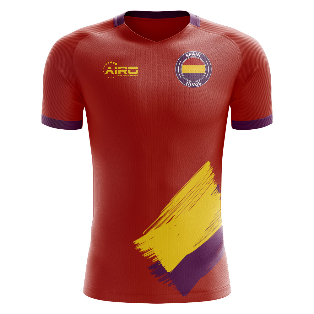 2019-2020 Spanish Republic Home Concept Football Shirt - Kids