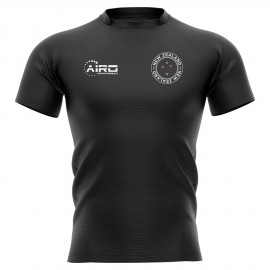 2020-2021 New Zealand All Blacks Home Concept Rugby Shirt