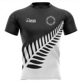 2020-2021 New Zealand All Blacks Fern Concept Rugby Shirt