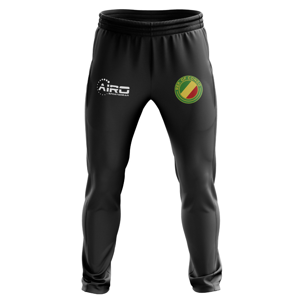 Congo Republic Concept Football Training Pants (Black)