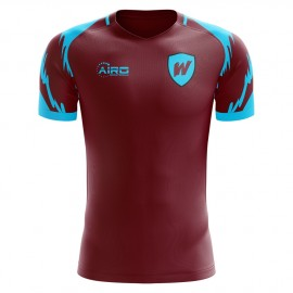 2019-2020 West Ham Home Concept Football Shirt - Kids (Long Sleeve)