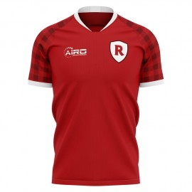 2019-2020 Stade Reims Home Concept Football Shirt