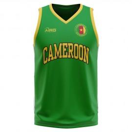 Cameroon Home Concept Basketball Shirt