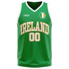 Ireland Home Concept Basketball Shirt