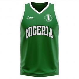 Nigeria Home Concept Basketball Shirt