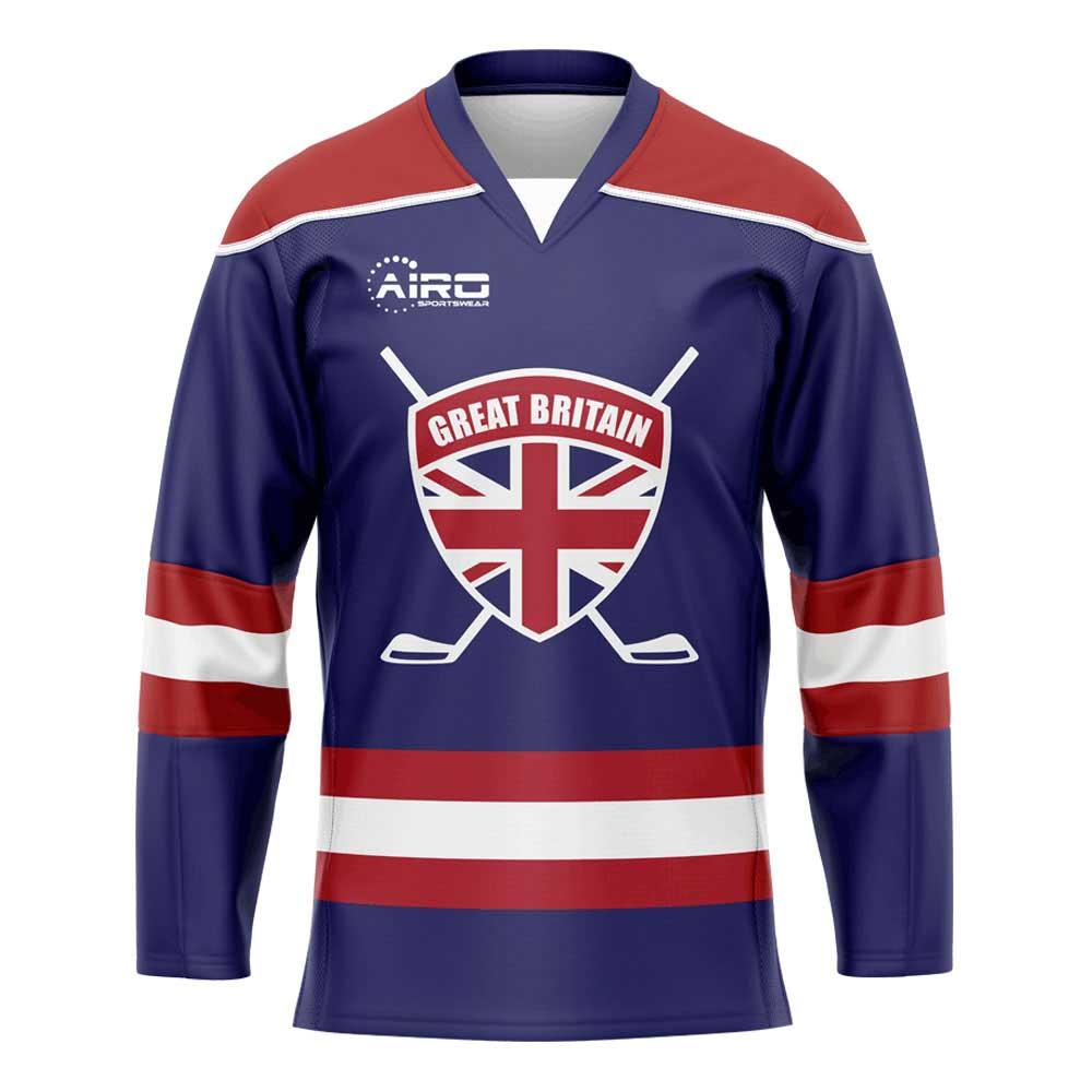 Great Britain Home Ice Hockey Shirt
