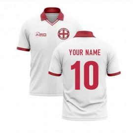 2020-2021 England Cricket Concept Shirt (Your Name)