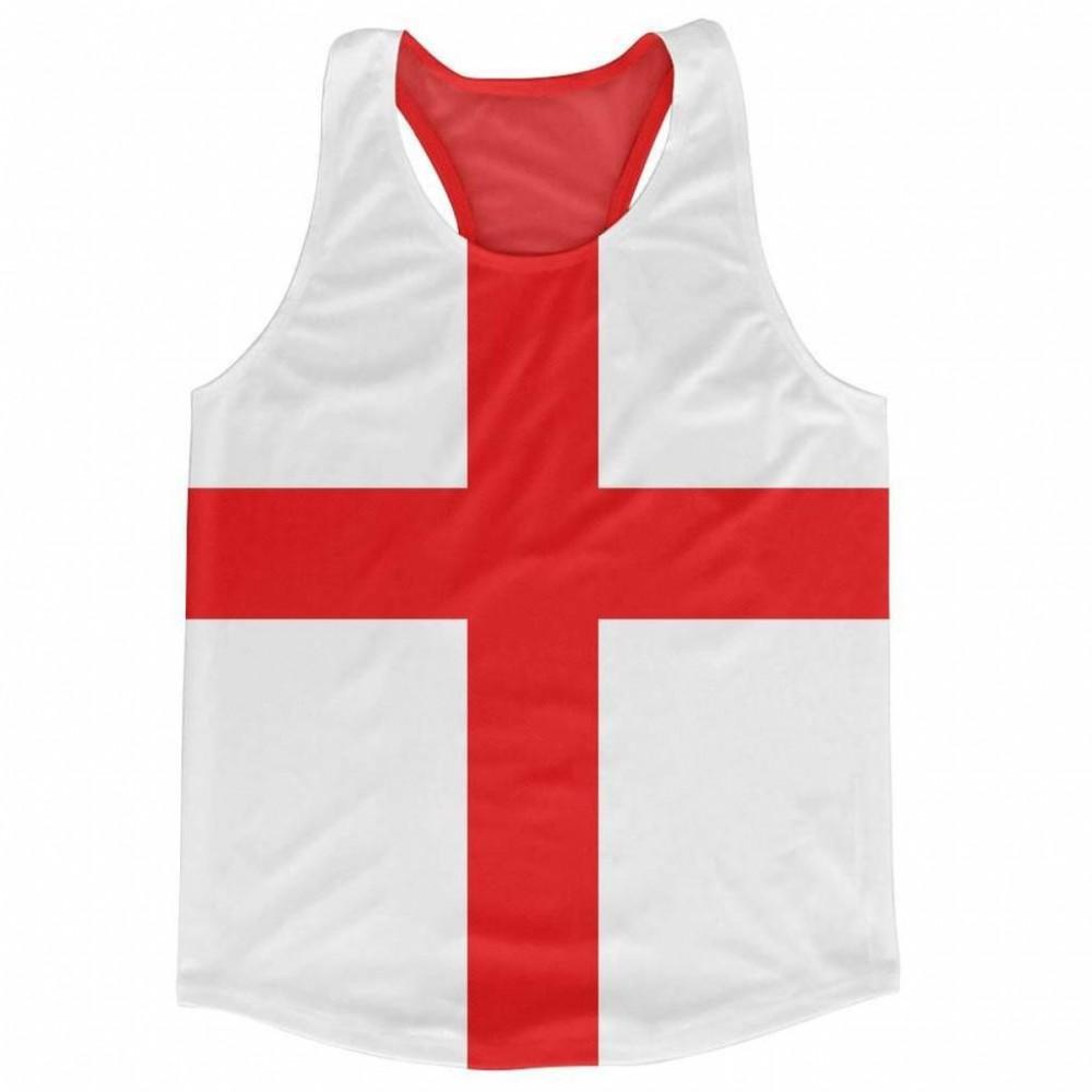 England Flag Running Vest