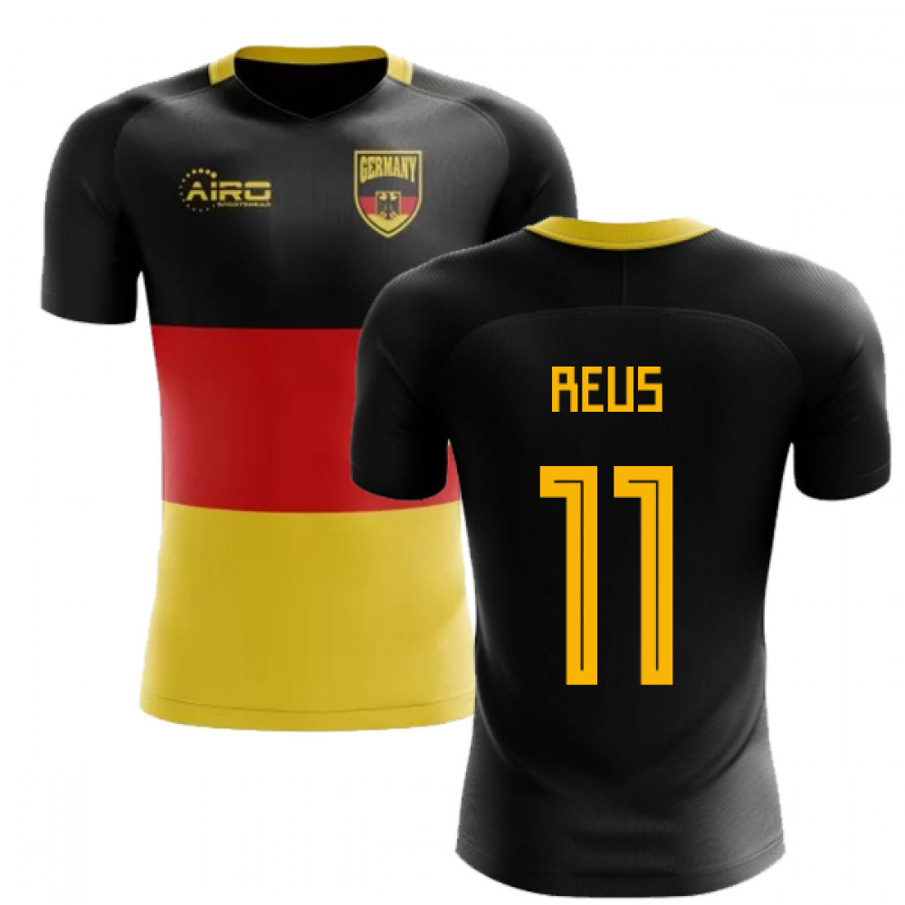 outlet store b6049 d2ad6 2018-2019 Germany Flag Concept Football Shirt (Reus 11)