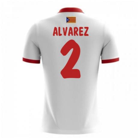 2017-18 Catalunya Airo Away Shirt (Alvarez 2)
