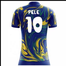 2018-19 Brazil Away Concept Shirt (Pele 10) - Kids