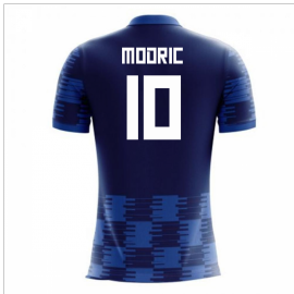 2020-2021 Croatia Away Concept Shirt (Modric 10) - Kids