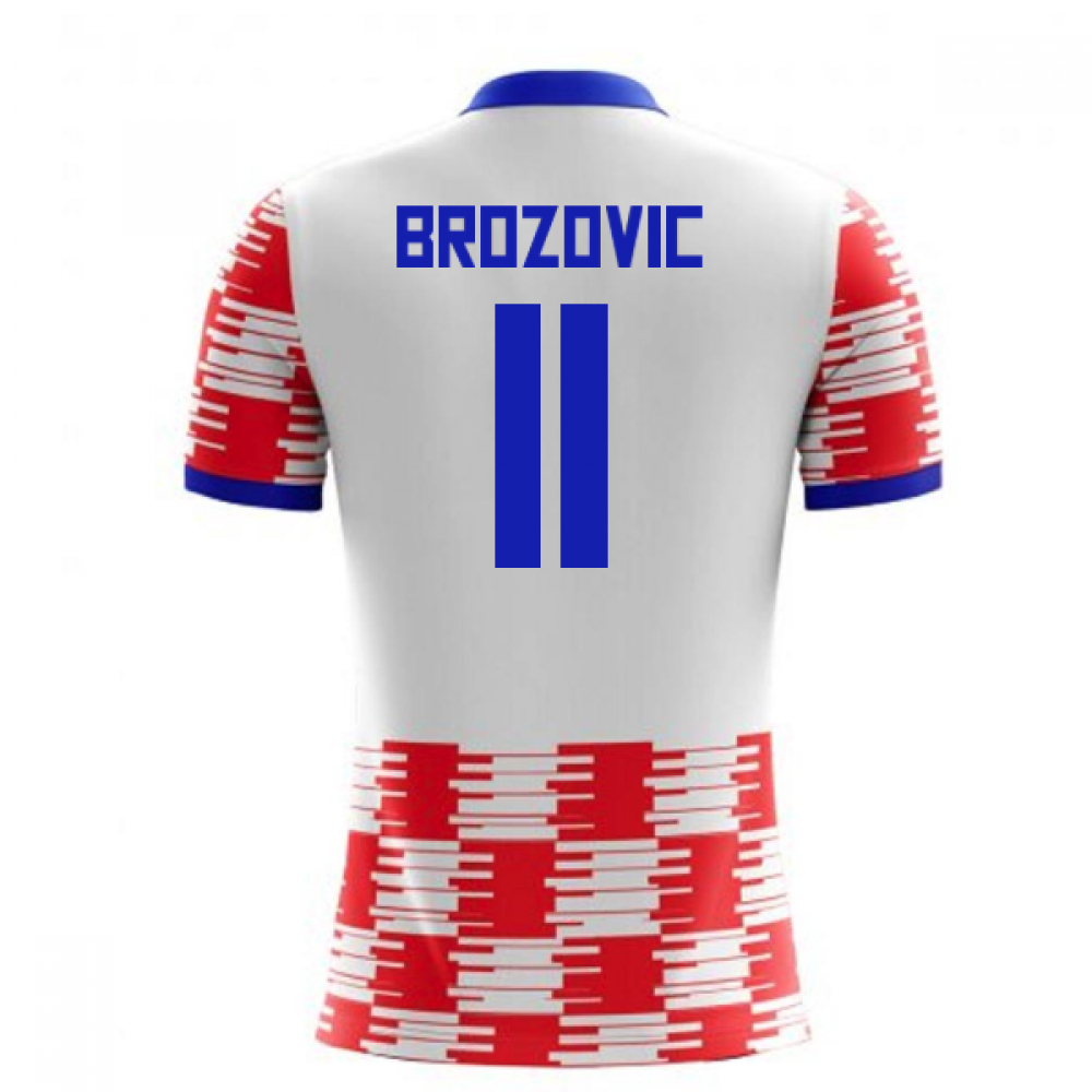 info for 42dec 02b1a 2018-19 Croatia Home Concept Shirt (Brozovic 11)