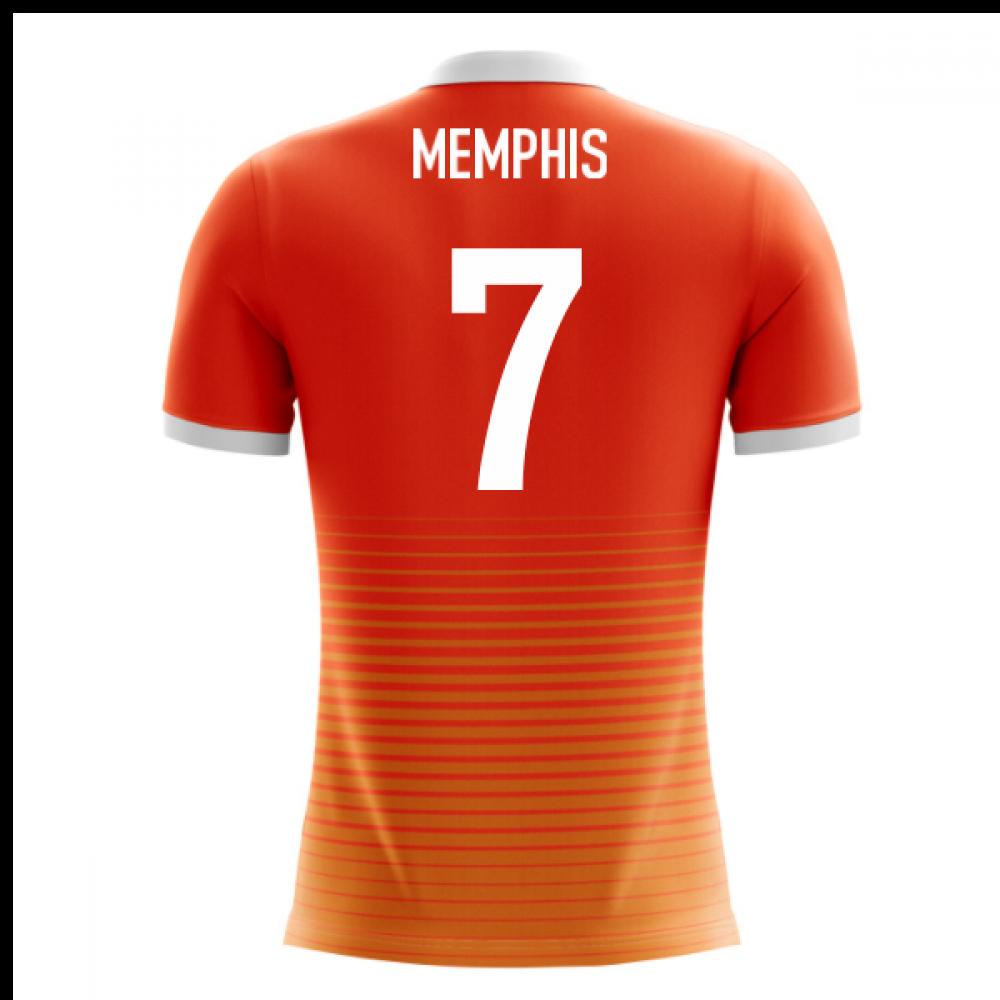 4a2e58f87 2018-19 Holland Airo Concept Home Shirt (Memphis 7)