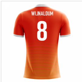 2018-19 Holland Airo Concept Home Shirt (Wijnaldum 8)