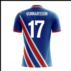 2018-19 Iceland Airo Concept Home Shirt (Gunnarsson 17)