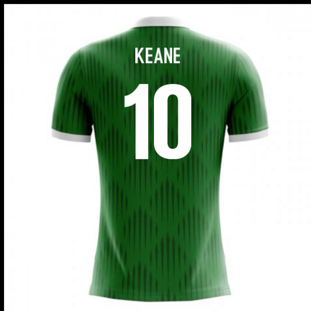 2018-19 Ireland Airo Concept Home Shirt (Keane 10)