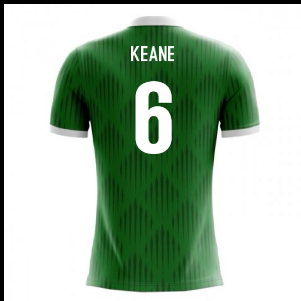 2018-19 Ireland Airo Concept Home Shirt (Keane 6)