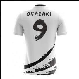 0d099631933 2018-19 Japan Airo Concept Away Shirt (Okazaki 9)