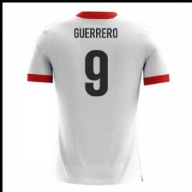 2018-19 Peru Airo Concept Home Shirt (Guerrero 9)