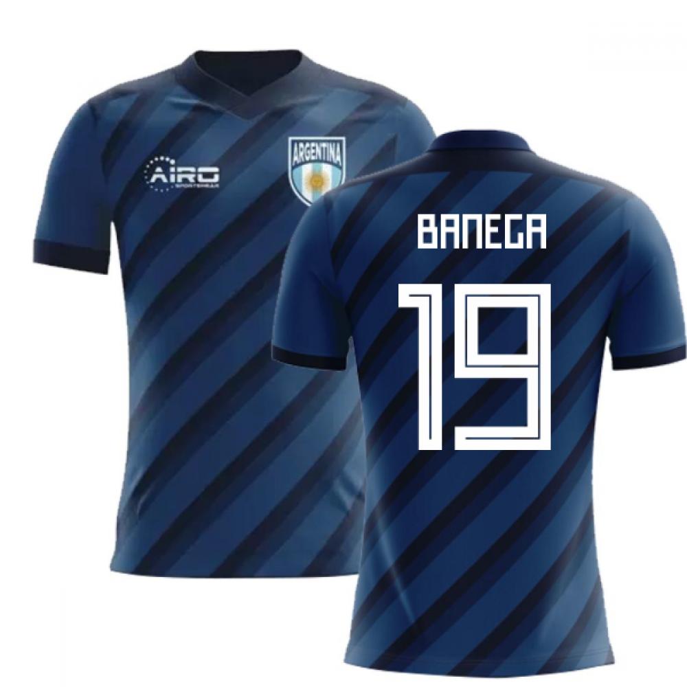 c162879e845 2018-2019 Argentina Away Concept Football Shirt (Banega 19)