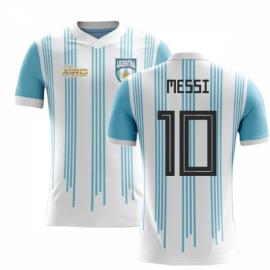 2018-2019 Argentina Home Concept Football Shirt (Messi 10) - Kids