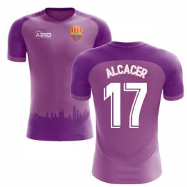 2018-2019 Barcelona Third Concept Football Shirt (Alcacer 17) - Kids