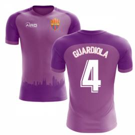 2018-2019 Barcelona Third Concept Football Shirt (Guardiola 4) - Kids