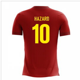 2020-2021 Belgium Airo Concept Home Shirt (Hazard 10)