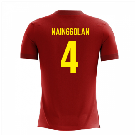 2020-2021 Belgium Airo Concept Home Shirt (Nainggolan 4)