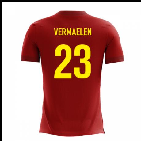 2020-2021 Belgium Airo Concept Home Shirt (Vermaelen 23)