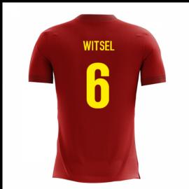 2020-2021 Belgium Airo Concept Home Shirt (Witsel 6)