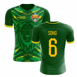 2018-2019 Cameroon Home Concept Football Shirt (Song 6) - Kids